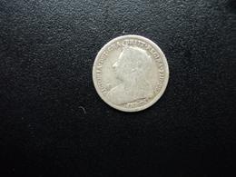 ROYAUME UNI : 3 PENCE   1897   KM 777    TB+ / TTB - 1816-1901 : Frappes XIX° S.