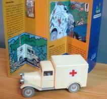 Voiture Ambulance Ford V8 De 1938, 1/43 De Tintin Les Cigares Du Pharaon, TINTIN - Tintin