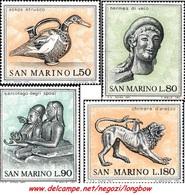 San Marino 1971 Serie Arte Etrusca - San Marino