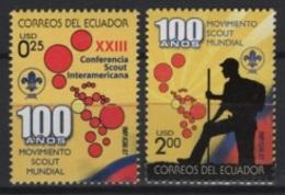 Ecuador (2007) Yv. 2045/46   /  Boy Scouts - Scouting - Scout - Movimiento Scout
