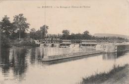 Morbihan : PONTIVY : Le Barrage Et L'écluse De L'estitut - Pontivy