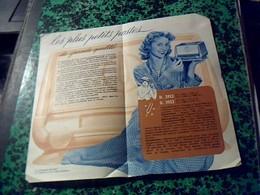 Publicité   Tract TSF Radio Pin Up POSTE  Recepteur Miniature   DUCRETET THOMSON //D 2923 ET D 3923 A Lampe MAZDA An1950 - Publicités