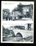 2018 10 12  Carte Double Palau, Puichéric, Avenue De La Place, Avenue De Carcassonne - Autres Communes