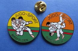 2 Pin's, Sport, JUDO-SPORT Birsfelden, Suisse - Judo