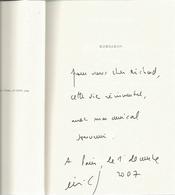Dédicace De Eric Fottorino - Korsakov - Livres, BD, Revues