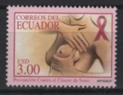 Ecuador (2007) Yv. 2061  /  Health - Breast Cancer - Medicine - Medicine