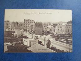CPA MAROC CASABLANCA QUARTIERS NOUVEAUX - Casablanca