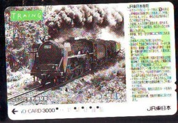 Carte Prépayée  Japon * TRAIN * JR * IO * CARD * (4854) Japan Prepaid Card * ZUG * Karte * TREIN * IO * - Trains