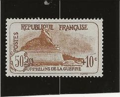 TIMBRE ORPHELIN DE 1926 - N° 230 NEUF CHARNIERE A PEINE VISIBLE - COTE : 25 € - Frankreich