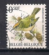 YT N° 2424 - Oblitéré - Roitelet Huppé - 1985-.. Oiseaux (Buzin)