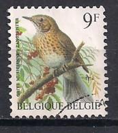 YT N° 2426 - Oblitéré - Grive Musicienne - 1985-.. Oiseaux (Buzin)