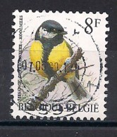 YT N° 2460 - Oblitéré - Mésange Charbonnière - 1985-.. Oiseaux (Buzin)