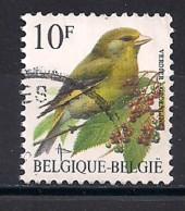 YT N° 2461 - Oblitéré - Verdier - 1985-.. Oiseaux (Buzin)