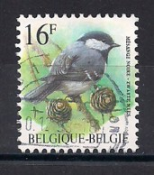 YT N° 2804 - Oblitéré - Mésange Noire - 1985-.. Oiseaux (Buzin)