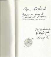 Dédicace De Frédéric Beigbeder - Windows On The World - Livres, BD, Revues