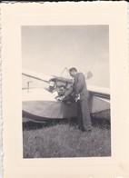 MINI PHOTO---AVION  PLANEUR---voir 2 Scans - Aviation