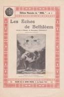 """Editions Musicales De """"Noël"""" N°7 Les Echos De Bethléem Paroles Et Musique De Monseigneur Foucault TBE - Partitions Musicales Anciennes"""