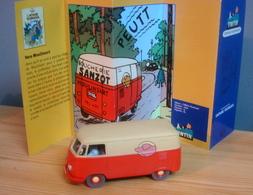 Voiture VW TRANSORTER De 1950, 1/43 De Tintin Dans  L'Affaire Tournesol, TINTIN - Tintin
