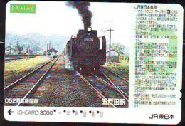 Carte Prépayée  Japon * TRAIN * JR * IO * CARD * (4862) Japan Prepaid Card * ZUG * Karte * TREIN * IO * - Treinen