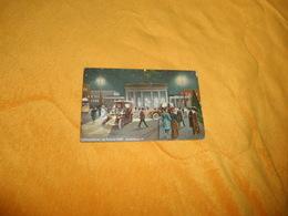 CARTE POSTALE ANCIENNE CIRCULEE DE 1912. / WELTSTADTBILDER AUS BERLIN BEI NACHT...CACHET + TIMBRE - Porte De Brandebourg