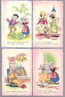 10 Cartes  Chansons Enfantines - Illustratori & Fotografie