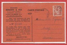 49 - La MENITRE --  Graineterie DENAITRE & Fils - France