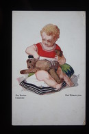 Teddy Bear,Teddybär, Ours En Peluche, Child, Enfant, Kind Karl Schwetz - Jeux Et Jouets