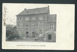 Comblain - La - Tour. Hôtel De L'Ourthe. Animée. Voyagée En 1903. - Comblain-au-Pont