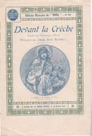 """Editions Musicales De """"Noël"""" N°96  Devant La Crèche  Paroles Marguerite D'Erlys  Musique De L'Abbé Aimé Simonet  BE - Partitions Musicales Anciennes"""