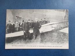 CPA AVIATION AVIATEUR BLERIOT ARRIVEE A DOUVRES JUILLET 1905 - Aviatori