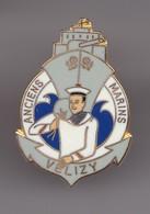 Pin's Vélizy Anciens Marins Réf 6957 - Militair & Leger