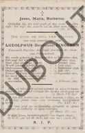 Doodsprentje Pater/Frère Ludolphus Dingenen °1815 Meerhout †1889 Vorst St.Gertrudis / Averbode / Testelt (F113) - Décès