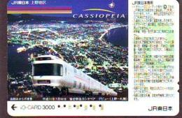 Carte Prépayée  Japon * TRAIN * JR * IO * CARD * (4873) Japan Prepaid Card * ZUG * Karte * TREIN * IO * - Trains