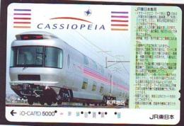 Carte Prépayée  Japon * TRAIN * JR * IO * CARD * (4874) Japan Prepaid Card * ZUG * Karte * TREIN * IO * - Trains