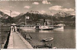 L15H_135 - Lac D'Annecy - 588 Sevrier - Le Port, Les Dents De Lanfon Et La Tournette - France