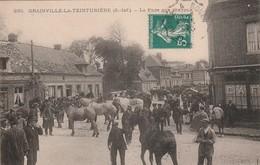 76 Grainville La Teinturiere. La Foire Aux Chevaux - France