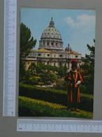 VATICANO - GIARDINI VATICANI -  CITTA -   2 SCANS  - (Nº26783) - Vatican