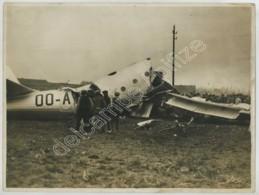 (Aviation) Premier Vol - Fatal - D'un Avion Stratosphérique à Bruxelles . Mort De L'as Van Damme . 1938 . - Aviación