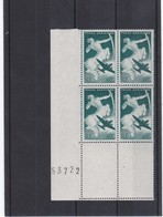 FPA 12 - France Poste Aérienne N° 16 En Bloc De 4 (bord De Feuille) Sans Charnière ** - Luftpost