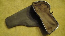 Etui Cuir Style Porte Monnaie Pour Browning 1900 - Armes Neutralisées