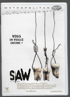 Saw 3 Dvd - Horreur