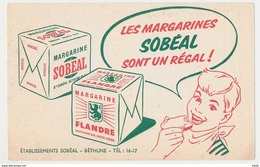 Les Margarines SOBEAL Sont Un Regal - Bethune - Alimentaire