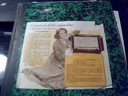 Publicité   Tract TSF Radio Pin Up POSTE  Recepteur D  936  DUCRETET -THOMSON Année  1950 - Publicités