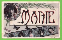 BONNE ANNEE .... Carte écrite Vers 1910 - Prénoms