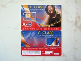 SIM  GSM  VERY  RARE  MALITEL  MALI TOP MINT - Mali