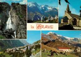 Dep 05 , Cpm La GRAVE , Alt. 1526m. , I.29714 , Multivues (D9.069) - Francia