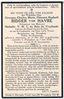 Dp. Burgemeester V.Wynegem. Ridder V.Havre Georges. Echtg. Du Bois De Vroylande Nathalie.° Antwerpen 1871 † Wynegem 1934 - Religion & Esotérisme