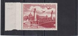 FPA 22 - France Poste Aérienne YT N° 28 (bord De Feuille) Sans Charnière ** - Luftpost