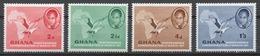 Ghana 1957 Mi# 1-4** INDEPENDENCE - Ghana (1957-...)