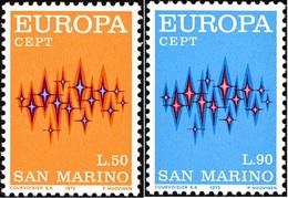 San Marino 1972 Serie C.E.P.T. Simboli - San Marino